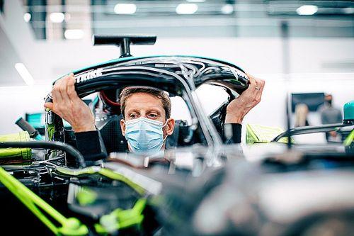 Le test de Romain Grosjean avec Mercedesest maintenu