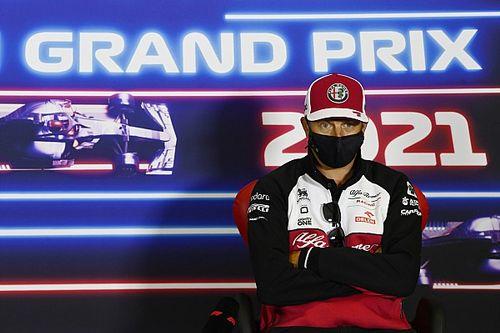 Räikkönen : Je suis totalement maître de mon avenir