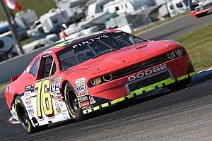 NASCAR Canada Race report Lapcevich scores third win of the season with late move on Kennington