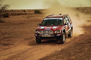 Indian Rally Leg report Desert Storm, Leg 5: Rana takes lead as Mishra suffers heavy crash
