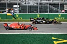 Vettel et le slalom impossible dans un trafic