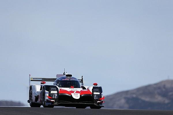 WEC Photos - Alonso en essais avec Toyota au Portugal