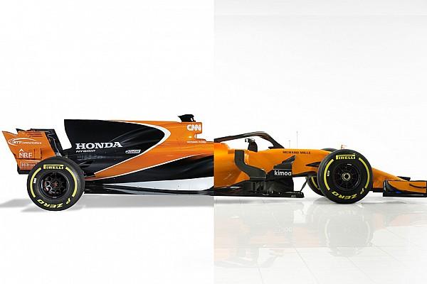 Formule 1 Special feature Vergelijk de McLaren MCL33 met de 2017-wagen