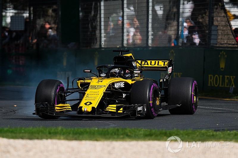 Hulkenberg: Renault'nun aracı yeterince iyi değil