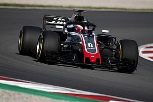 Fórmula 1 Crónica de test Grosjean, el más rápido en la primera mañana de test en Barcelona