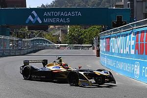 Formula E Practice report Santiago ePrix: Vergne tops red flag-disrupted practice