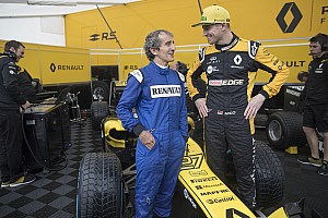 VIDEO: Prost y Hulkenberg en el Roadshow en Niza