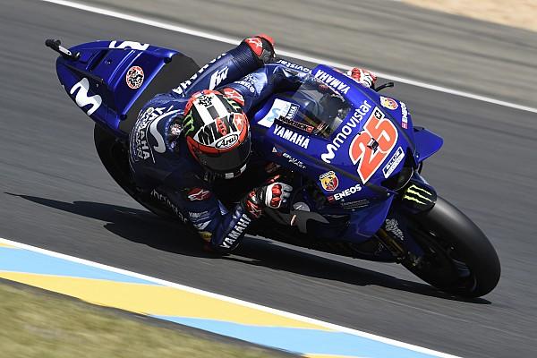 MotoGP Crónica de test Viñales fue el más rápido en las pruebas de Montmeló