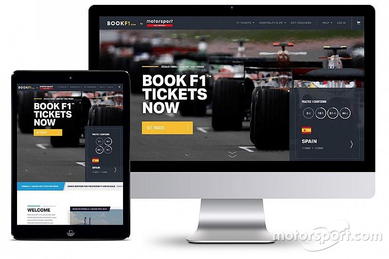Motorsport Network s'implante sur le marché des billets avec l'acquisition de BookF1.com