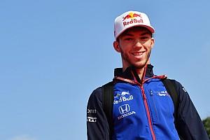 初の母国GPに挑むガスリー「ここでは、これまで何度も成功してきた」