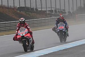 MotoGP Réactions Lorenzo limité par le manque d'adhérence de sa Ducati