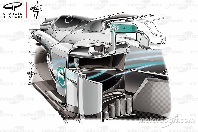 La FIA da el visto bueno a los nuevos espejos de Mercedes