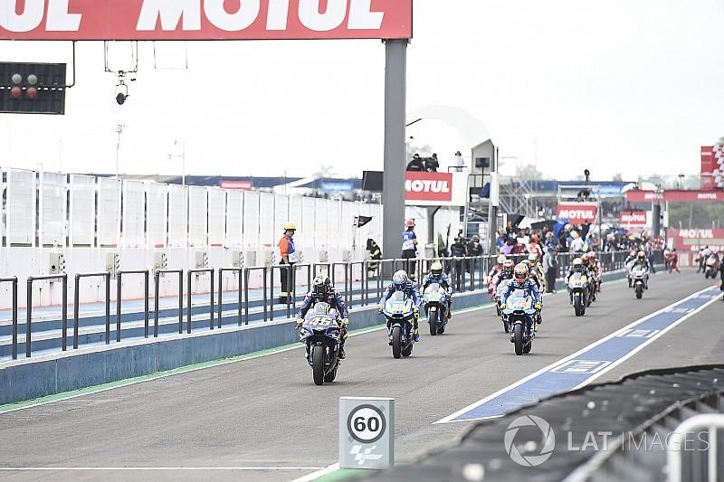 MotoGP aprueba cambios en el procedimiento de salida