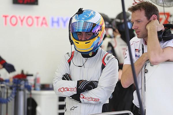 WEC Relato de testes Alonso elogia carro da LMP1, mas se esquiva sobre Le Mans