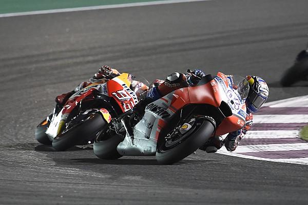 El semáforo del Gran Premio de Qatar