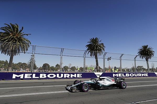 F1 练习赛报告 澳大利亚大奖赛FP1:汉密尔顿做出新赛季首阶段最快单圈时间