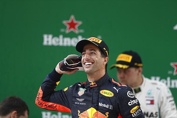 """Horner: """"Ricciardo zit nu op zijn hoogste niveau"""""""