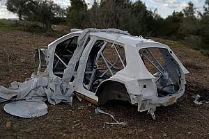 Grecia, trovata una scocca ŠKODA: è la Fabia rubata a Max Rendina?