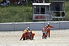 MotoGP Dovizioso reconhece erro após acidente na Catalunha