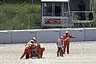 MotoGP Dovizioso admet avoir trop forcé pour suivre Lorenzo et Márquez
