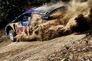 WRC Nieuws Ogier ongedeerd na zware crash tijdens test voor Rally van Finland