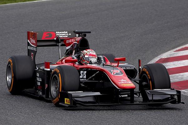 Matsushita lidera primeiro teste da F2; Sette Câmara é 14º