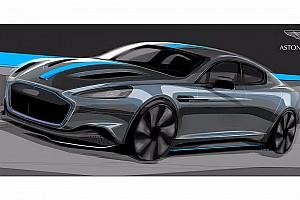 Auto Actualités L'Aston Martin RapidE plus performante que la Tesla Model S?