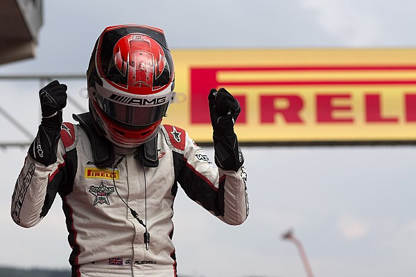 George Russell remporte le titre GP3 !