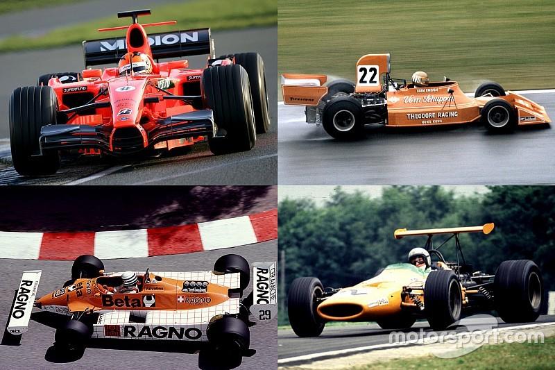 Diaporama - Quand la F1 passe à l'orange