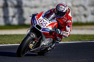 "MotoGP Breaking news Dovizioso admits Ducati improvements are ""not enough"""