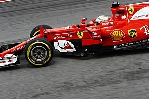 F1 练习赛报告 马来西亚大奖赛FP2:维特尔高居榜首,窨井盖掀起引发大事故