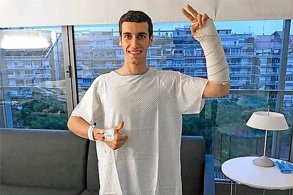 MotoGP Noticias de última hora Rins pasó por el quirófano y en 10 días iniciará la rehabilitación