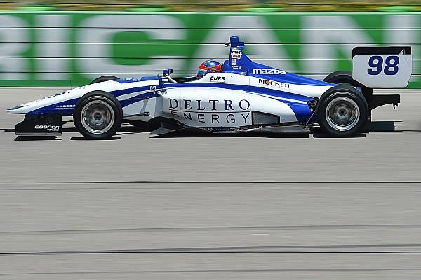 Indy Lights Reporte de calificación Pole de Colton Herta en la Serie Indy Lights