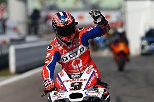 MotoGP Practice report FP2 MotoGP San Marino: Petrucci tercepat, Marquez terjatuh