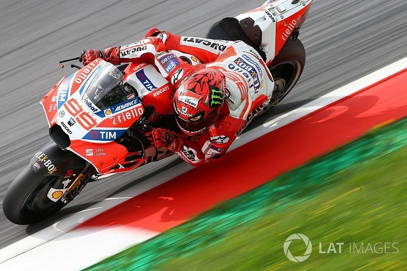 Lorenzo sufrió problemas con el combustible