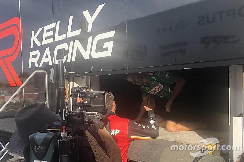 Tickford bloss slams 'stupid' Kelly for pitlane fracas