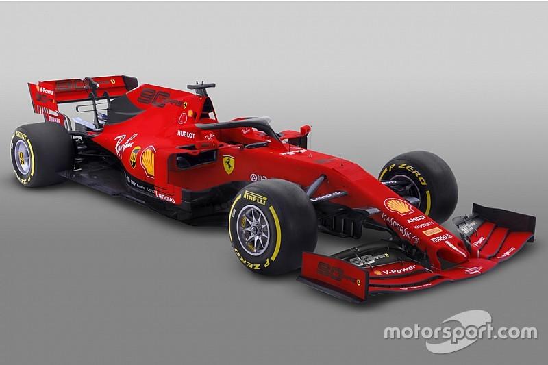 Ferrari: il logo che celebra i 90 anni della Scuderia prende il posto di Mission Winnow in Australia