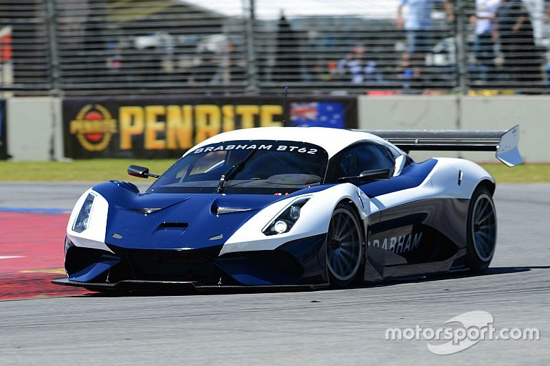 Brabham BT62 set for Adelaide 500 demo