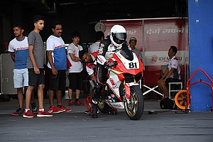 Two Honda India riders in ARRC Thailand test shootout