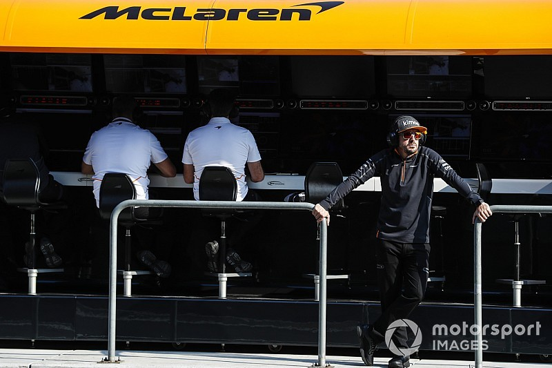 McLaren says it won't be lost without Alonso benchmark