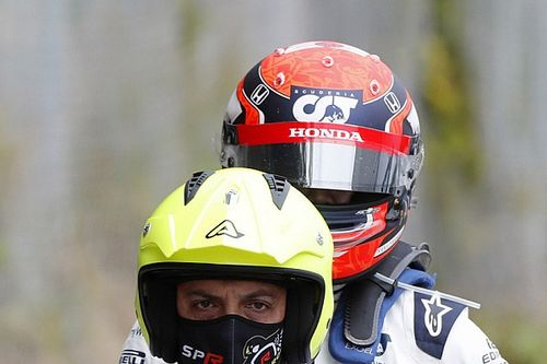 角田裕毅のトラブルは燃料圧力の低下。ホンダ田辺TD「急に異変が起きて、燃料が来なくなった」