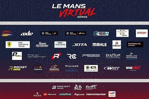 Teams announced for 2021-2022 Le Mans Virtual Series