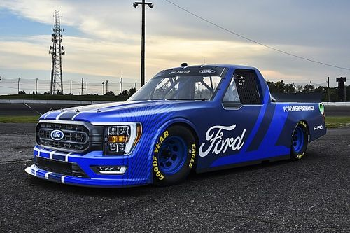 Ford unveils new-look F-150 for 2022 NASCAR Truck Series