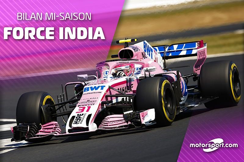 Bilan mi-saison - Force India, rebondir après avoir frôlé le pire ?