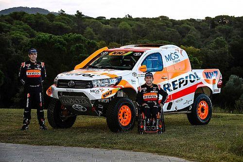 Isidre Esteve, con Toyota al Dakar 2021