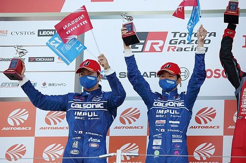 優勝に届かずも今季初表彰台、12号車カルソニックの平峰「悪い流れを断ち切れた」