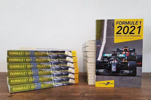 Win één van de drie boeken 'Formule 1 2021 - Seizoen van de herkansing'