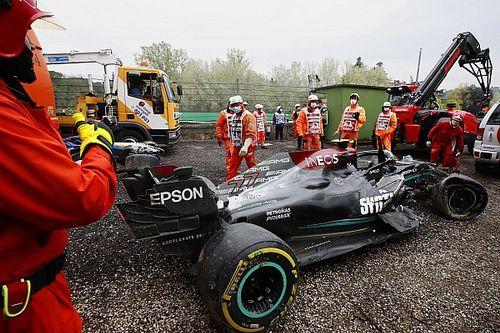 Mercedes: Bottas a Portimao con una scocca nuova