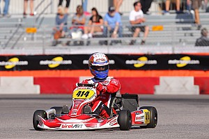 Kart Qualifying report Greco surprises with DD2 pole, as qualifying completed in Vegas