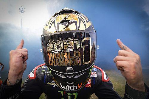 GALERÍA: las fotos del campeón de MotoGP Fabio Quartararo
